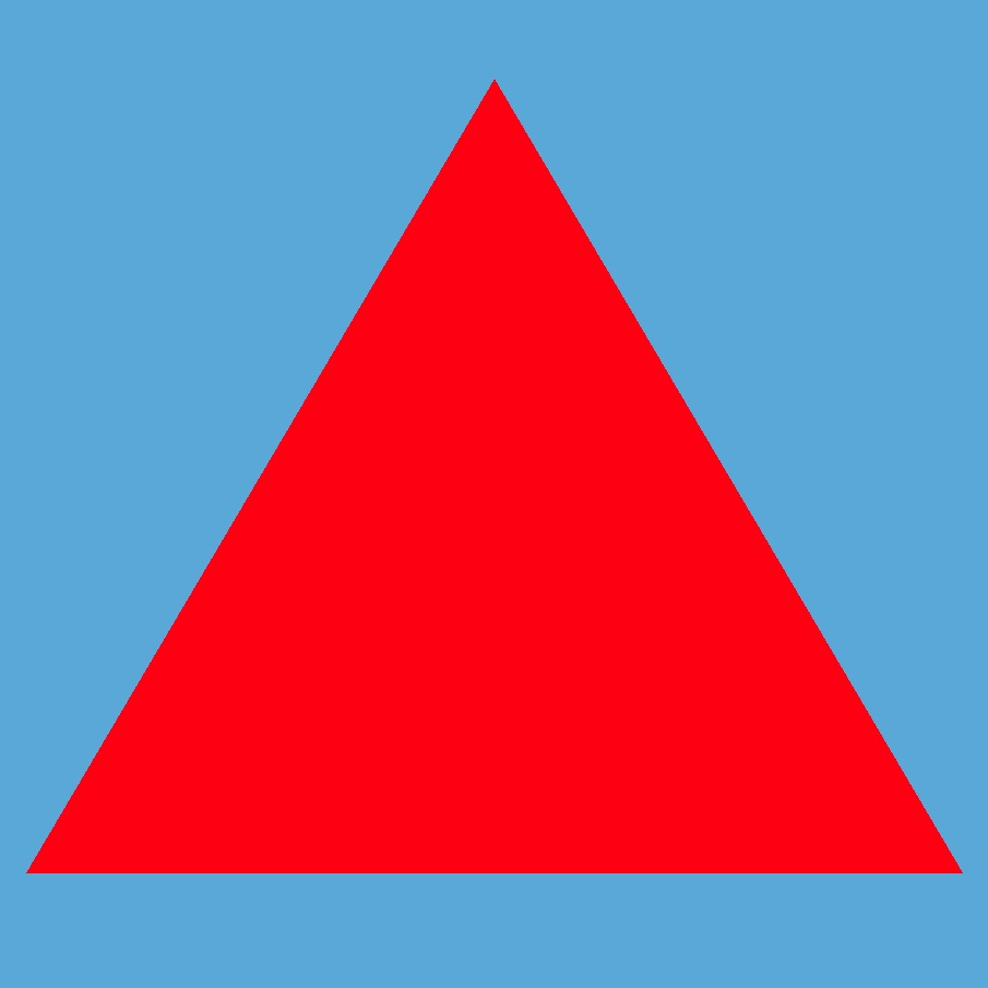 Hello World Triangle